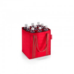 Saco para Garrafas Vermelho Riscas - Bottlebag - Reisenthel REISENTHEL RTLZJ3004
