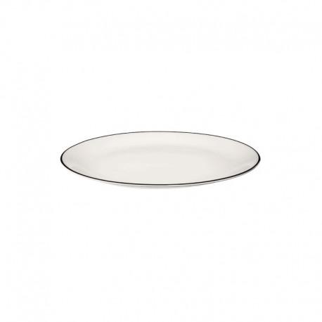 Round Plate Ø26,5Cm - Ligne Noir White - Asa Selection ASA SELECTION ASA1903113
