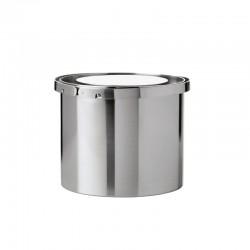 Ice Bucket Arne Jacobsen 1L Silver - Stelton STELTON STT05-1