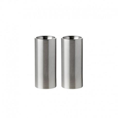 Salero & Pimentero Arne Jacobsen Plata - Stelton STELTON STT010-1