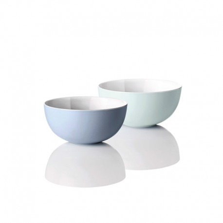 Set of 2 Bowls Small - Emma Blue - Stelton STELTON STTX-206