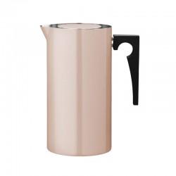 Cafetera De Émbolo 1L - Arne Jacobsen Rosa - Stelton