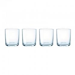 Vasos Vidrio (X4) Azul - Stelton