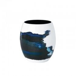 Florero S Ø13Cm - Aquatic Azul/blanco - Stelton STELTON STT450-20