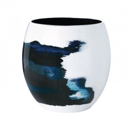 Florero L Ø20,3Cm - Aquatic Azul/blanco - Stelton