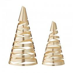 Árboles De Navidad (X2) - Tangle Dorado - Stelton STELTON STT10221