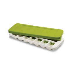 Ice-Cube Tray With Stackable Lif - Quick Snap White And Green - Joseph Joseph JOSEPH JOSEPH JJ20018