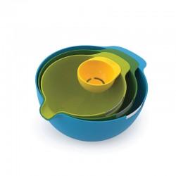 Conjunto Tazas De Mistura - Nest Mix Multicolor - Joseph Joseph