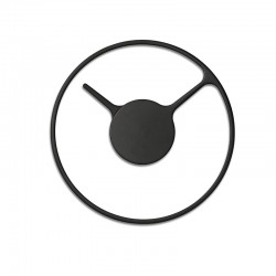 Wall Clock - Time Ø22Cm Black - Stelton