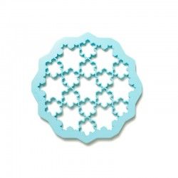 Snow Cookies Cutter Blue - Lekue
