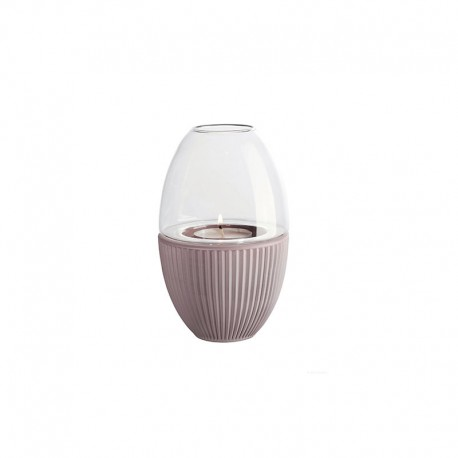 Linterna con Tapa de Vidrio Malva - Yoko - Asa Selection ASA SELECTION ASA1347610
