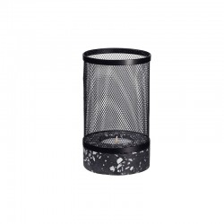 Stormlight with Mesh Cover Ø12cm - Terrazzo Black And White - Asa Selection