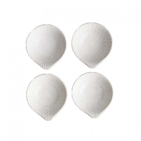 Conjunto De Cuatro Cuencos - Lumi Blanco - Asa Selection ASA SELECTION ASA90805071