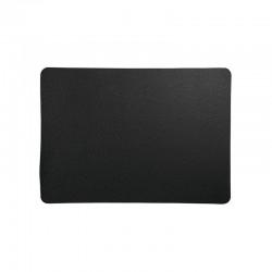 Placemat - Leder Rough Black - Asa Selection