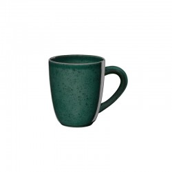 Mug with Handle Ø8,5cm Green - Saisons - Asa Selection