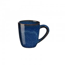 Mug with Handle Ø8,5cm Midnight Blue - Saisons - Asa Selection