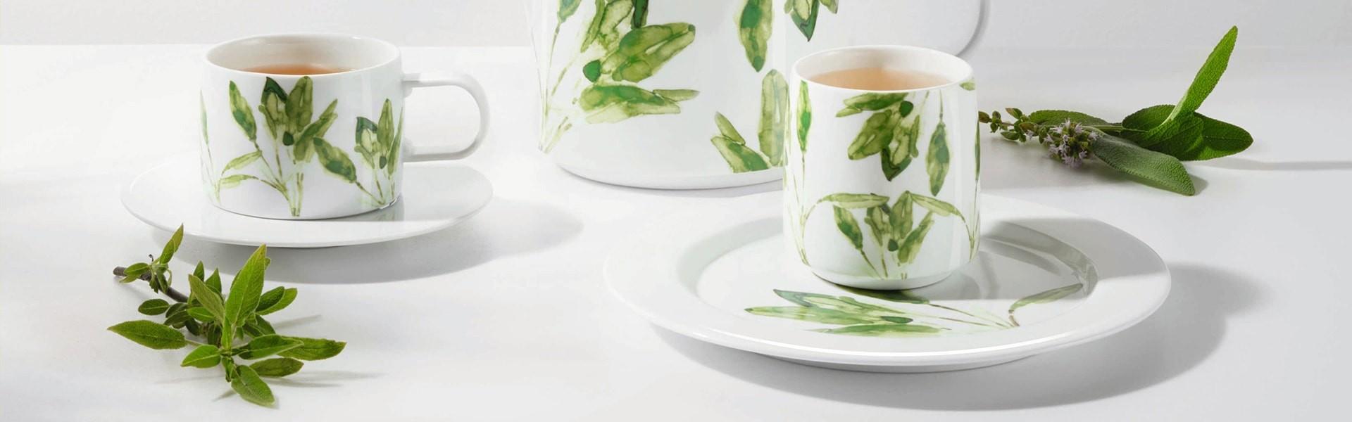 Coleção de chá Slvia