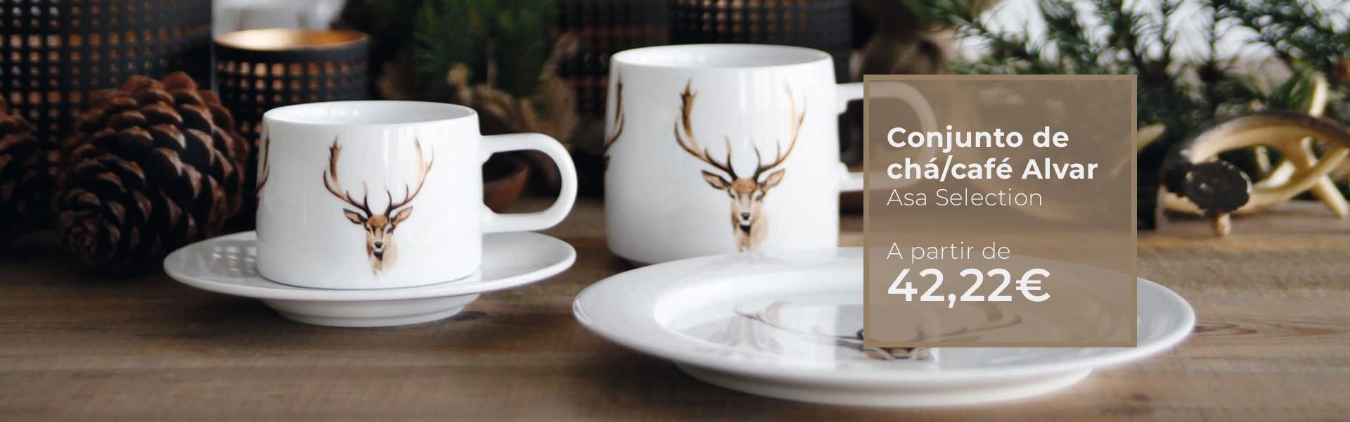 Coleção de chá e café Alvar