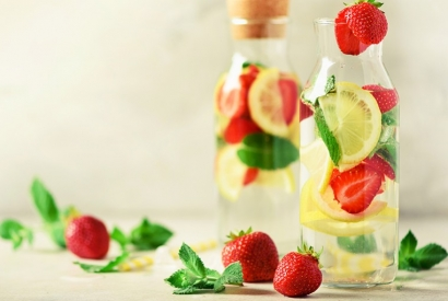 5 homemade flavoured water recipes